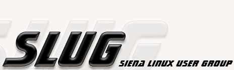 SLUG - Siena Linux User Group